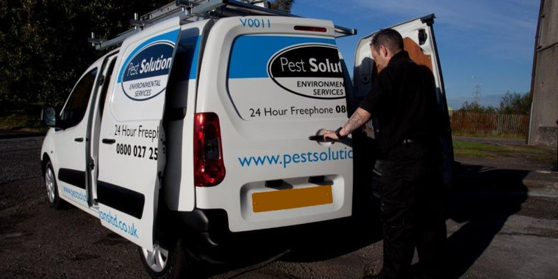 Call Pest Solutions Dundee