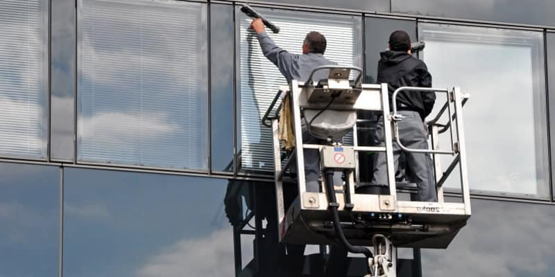 High Level Window Cleaning Glasgow - Pest Solutions - Hygiene Services